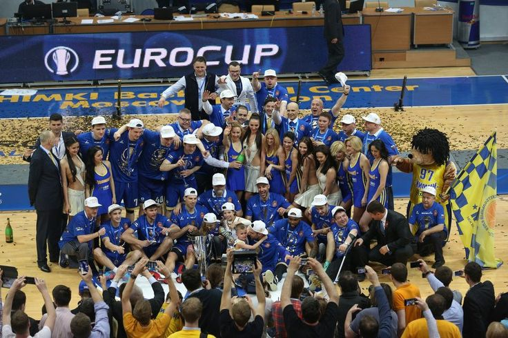 БК Химки Чемпионы Еврокубка 2014-2015 года!