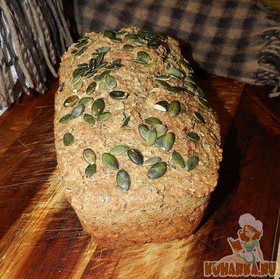 Рецепт: Бездрожжевой хлеб на кефире от academy