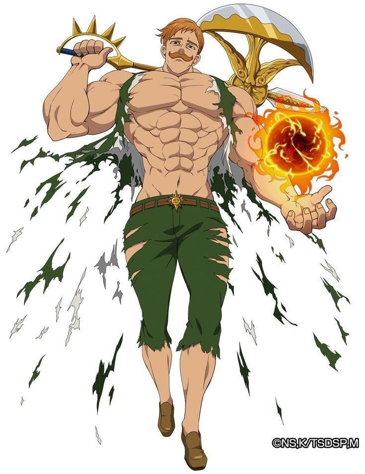 ESCANORSIN OF PRIDE (With images) Escanor seven deadly