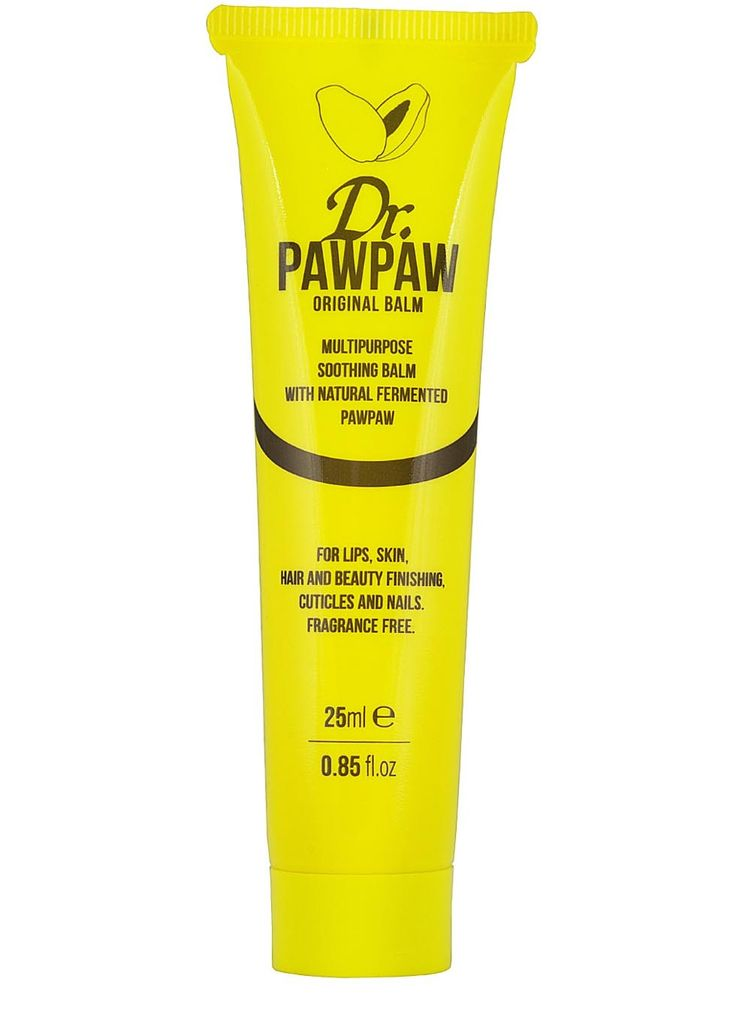 Presenting Dr.PAWPAW, the�only British made, multi-purpose, miracle balm to contain the hero ingredient Pawpaw along with olive oil and aloe vera oil, which combine to create a smooth, long-lasting balm. Papaya is considered as the Holy Grail ingredient by beauty journalists, makeup artists, beauty bloggers and mums, due to its rich source of vitamins, minerals and antioxidants, which repairs, moisturises, smoothes and soothes parched, tight skin.�2.78 per 10.00ml