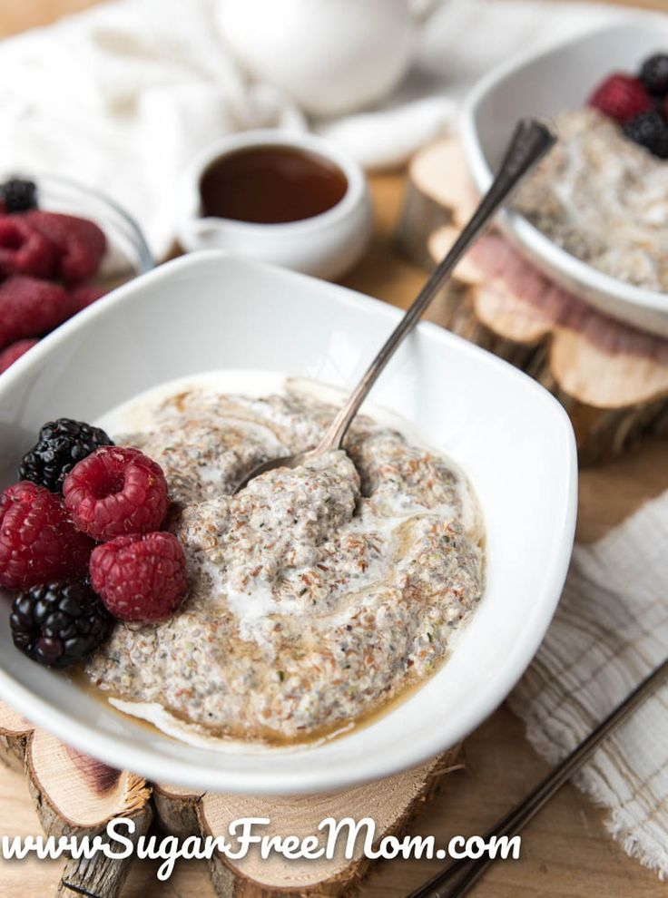 Low Carb Hot Breakfast Cereal (Keto, Gluten Free)