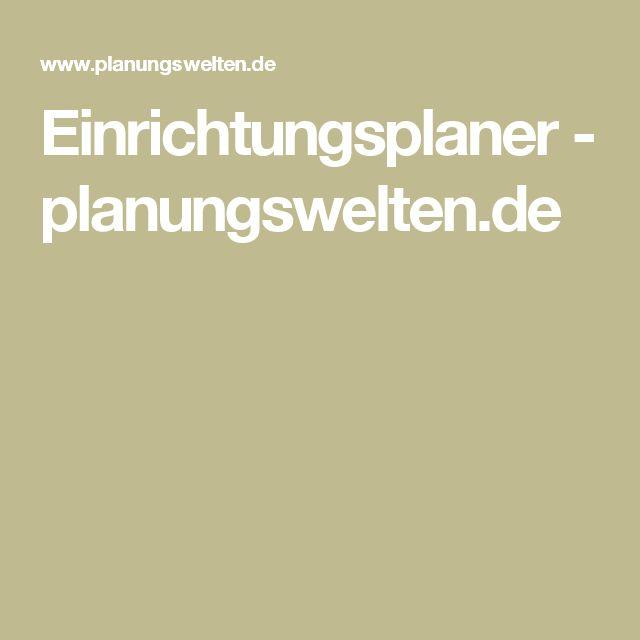 Einrichtungsplaner - planungswelten.de