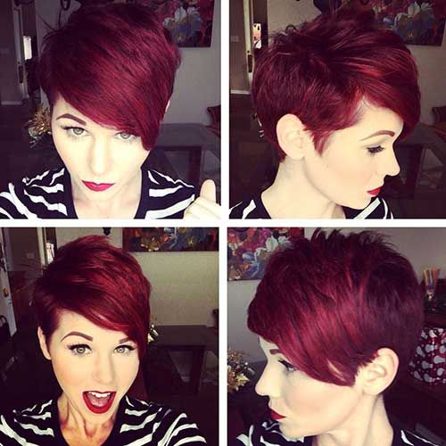 19.Red Pixie