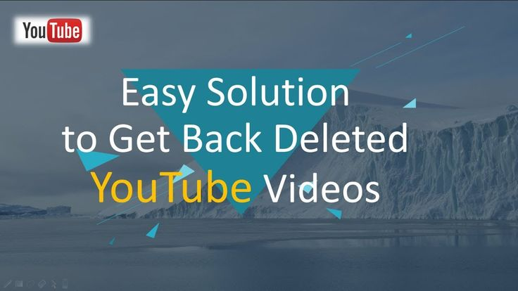If you accidentally delete the original YouTube videos on computer or other device, try this method to get them back. RePicvid Free Photo Recovery is able to help you recover deleted videos in different formats, such as AVI, MP4, MPG, etc.