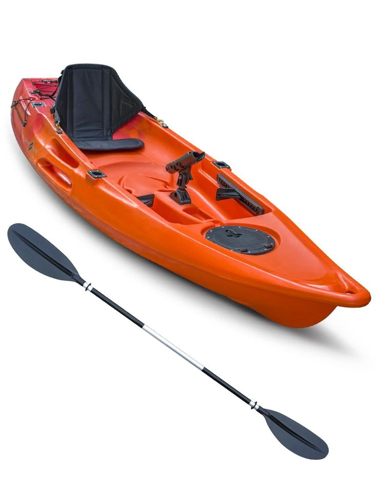 Concept Glide 1 Sit On Top Fishing Kayak Red Orange New