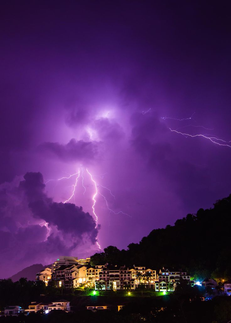 Labour Day Lightning