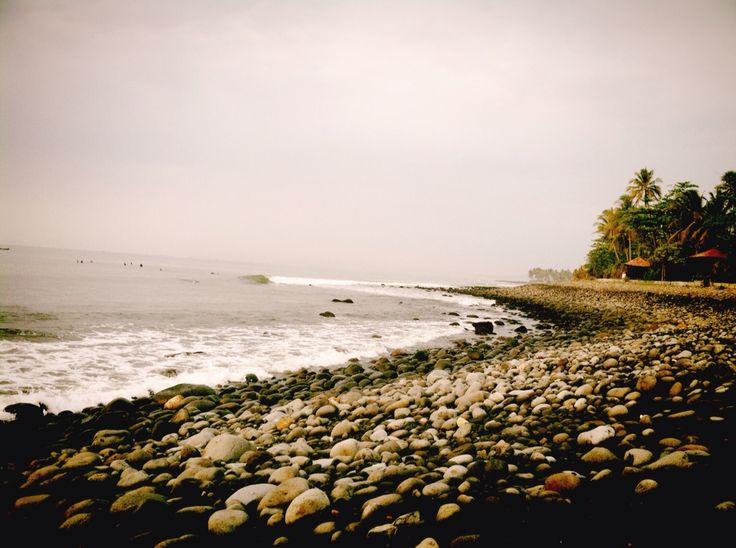 Cimaja surfing spot