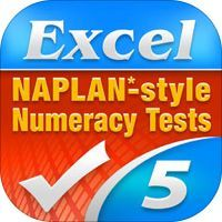 Excel NAPLAN*-style Year 5 Numeracy Tests by Pascal Press