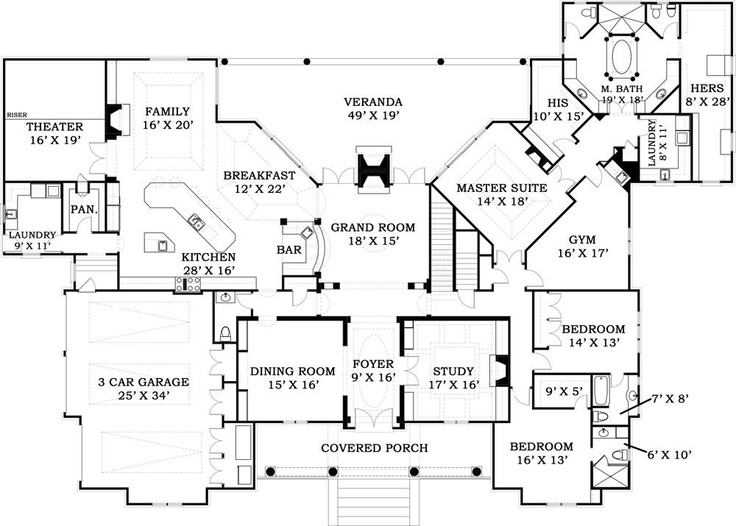 66 best Rustic House Plans images on Pinterest House floor plans