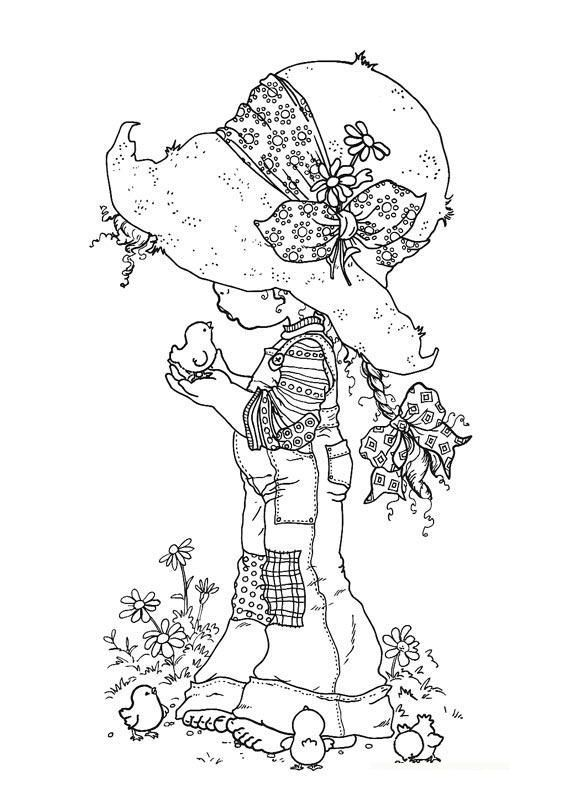 There are so many coloring pages to stitch or color on this site, it's a find for sure!