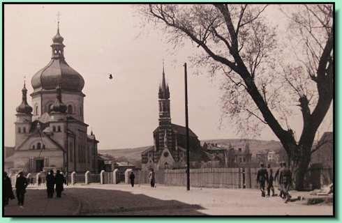 Przemyśl_ul. Grunwaldzka podczas niemieckiej okupacji