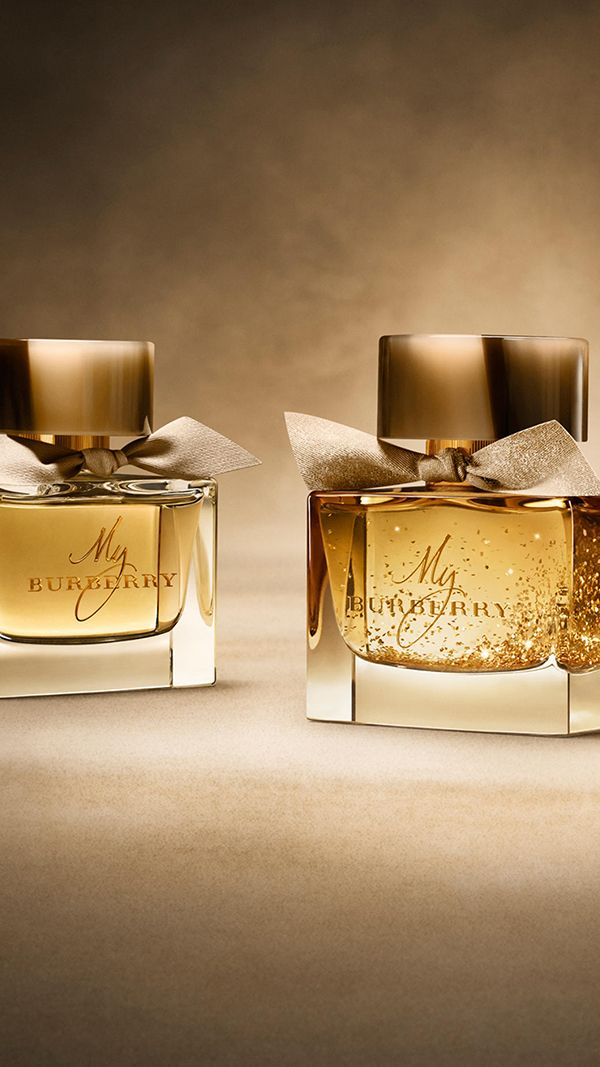 Burberry's Festive Beauty Collection introduces an exclusive limited edition of My Burberry eau de parfum!