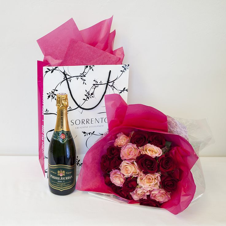 BUY NOW | Toscana Hamper with champagne and roses | Valentines Day Gifting | Sorrento Events Online Shop