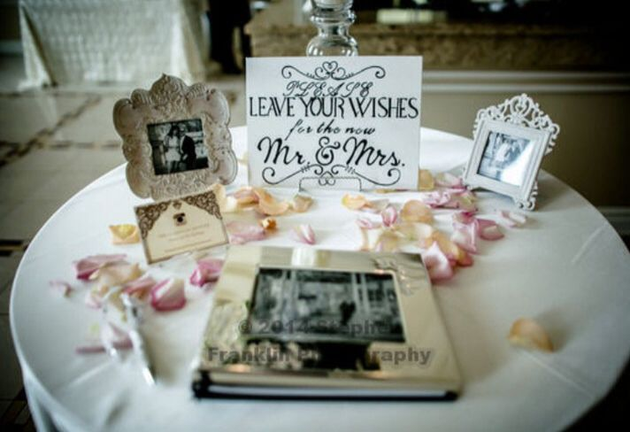 Please leave your wishes for the new Mr. & Mrs.