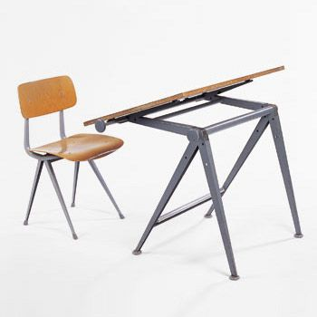 Revolt chair + drawing table