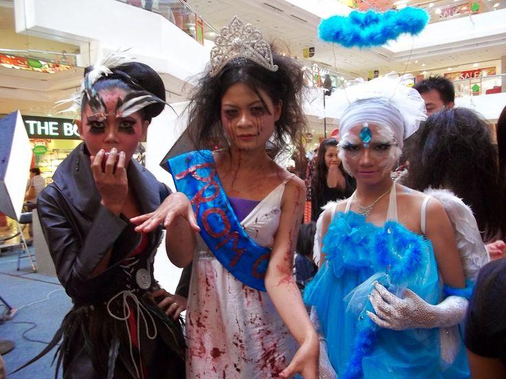 Nura Make Up Of ADITV: Make Up Karakter Antagonis, Halloween, dan Protago...