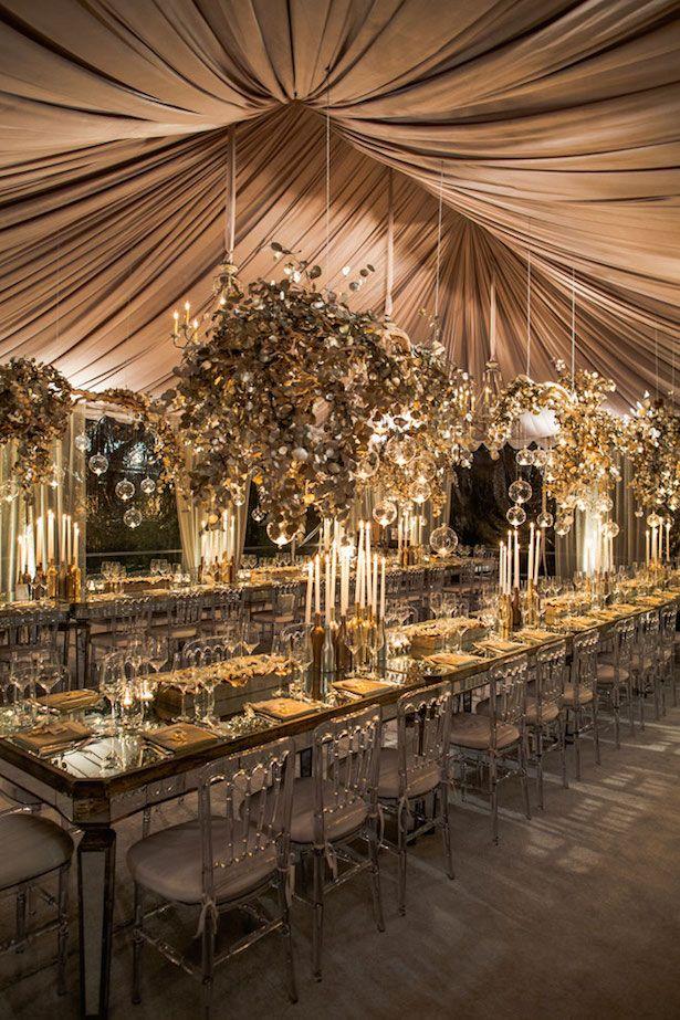 Wedding Tent Decorations - Event Design: White Lilac Inc.