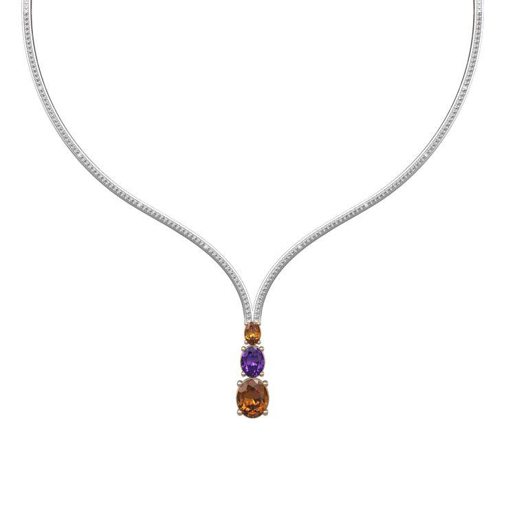 Purple Royale Necklace