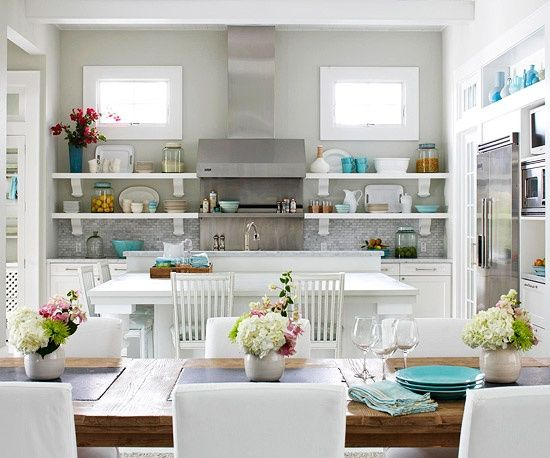 White Kitchen Aqua Accents 149 best kitchen images on pinterest | dream kitchens, home and