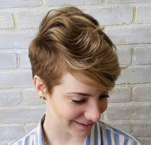 22 Pretty Short Haircuts for Women: Easy Everyday Short Hair Styles 2017