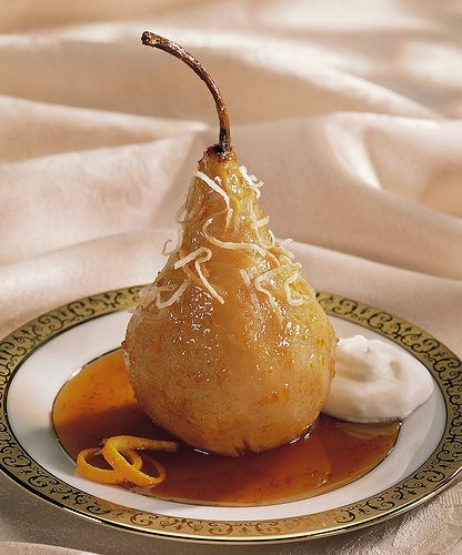 Slow Cooker Maple-Sauced Pear Recipe#Healthy slow cooker recipes