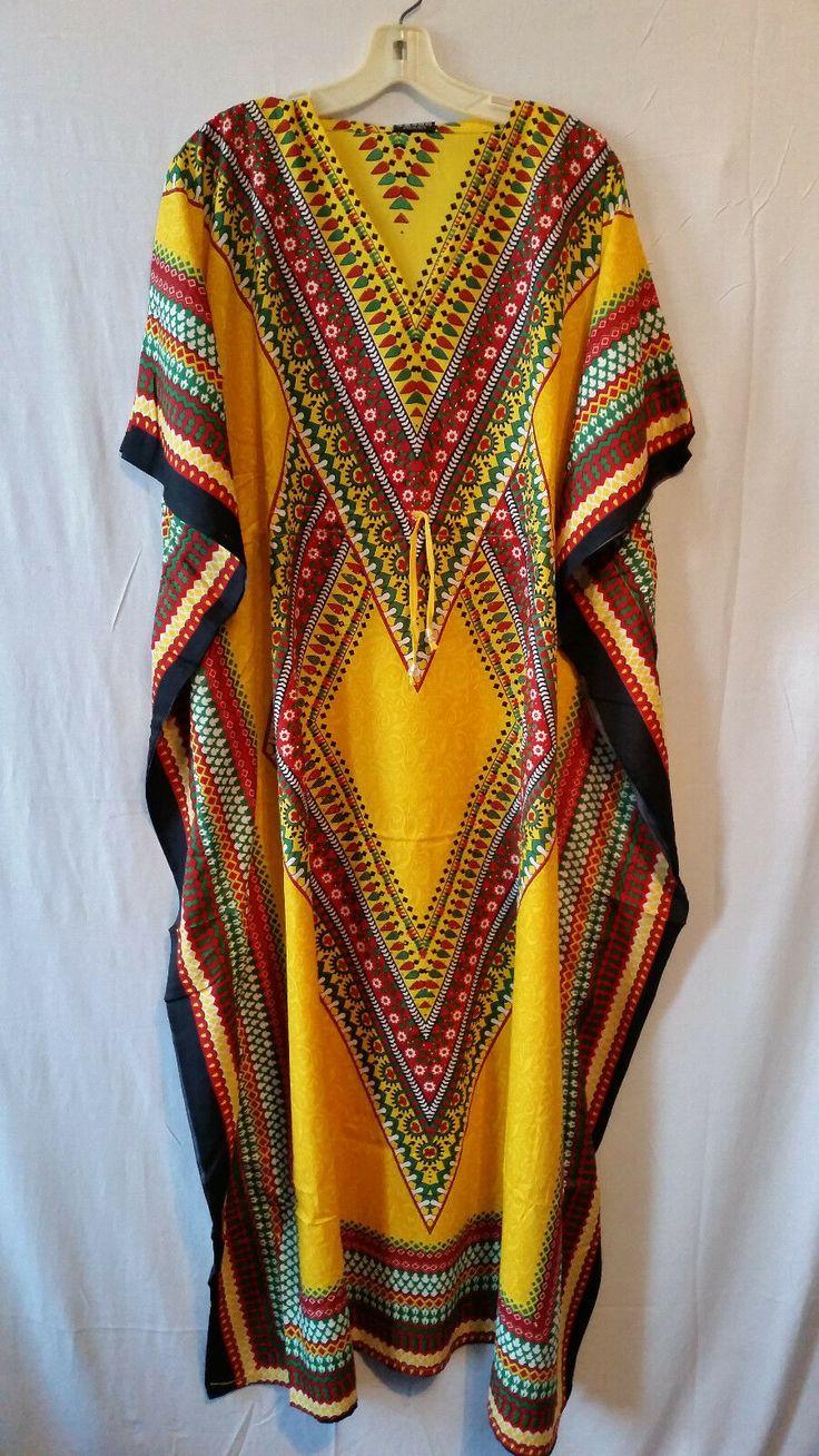 Dubai Kaftan Moroccan Yellow Dress with Embroidered Bead