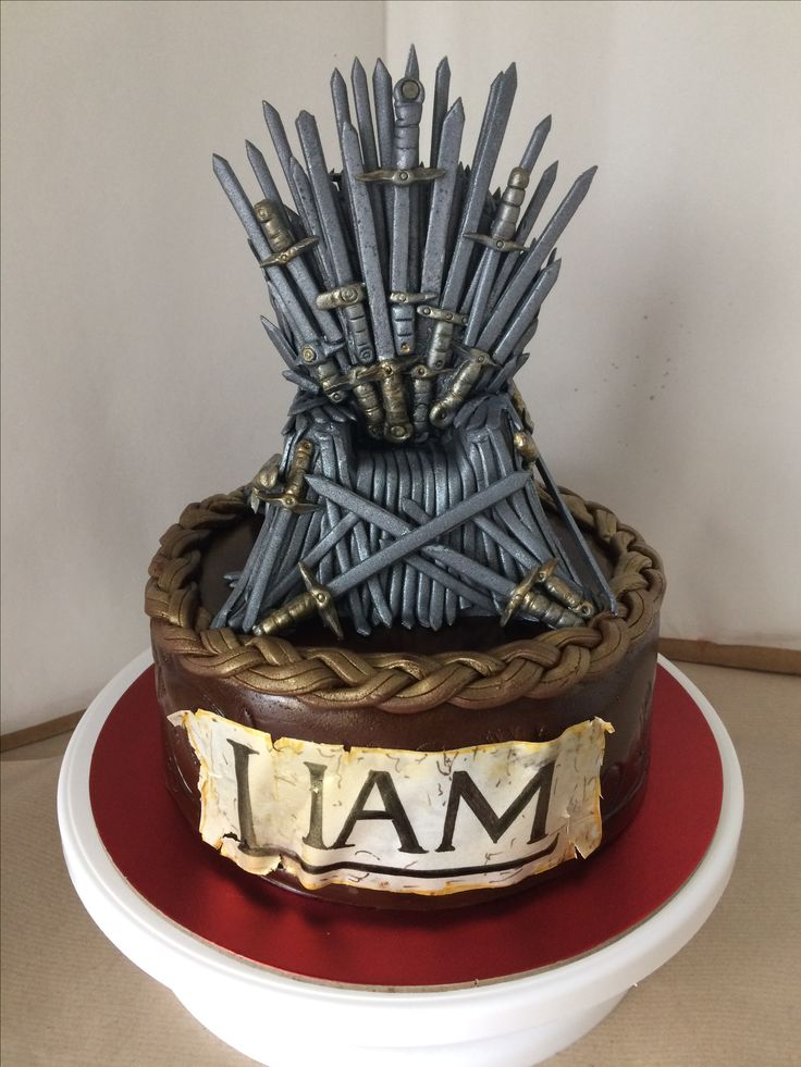 Throne of swords cake