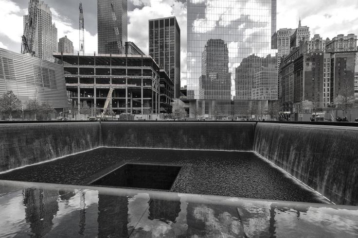 World Trade Center, New York. The 9/11 Memorial.    ©Davide Boccardo