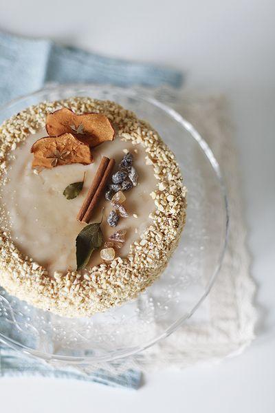 Чадейка - Ореховый торт с яблоками