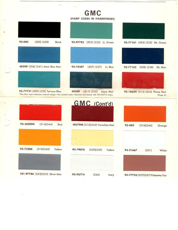 161 best paint images on pinterest cars autos and color for Paint color chips
