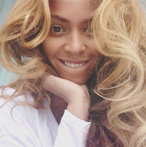 Beyonce Without Makeup -- She woke up like this.