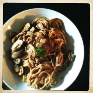 Creamy Mushroom Stroganoff Sauce   Weight Loss Inspiration & Recipes ...