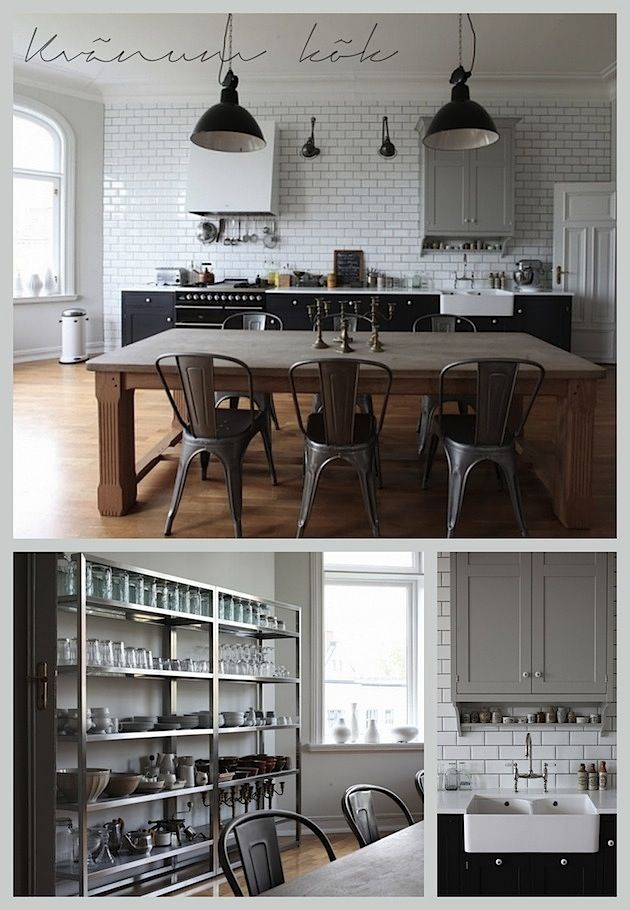 kvänum kök [I think I might just pass out! That shelving is AMAZING!!!!!!!!]