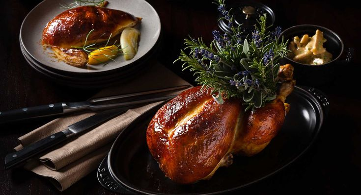 The NoMad Hotel | New York City  Does chicken alone warrant a night on the town? Yes, when the destination is this hotel restaurant from chef Daniel Humm, who also oversees the kitchen at Eleven Madison Park, and the bird (which serves two) is roasted with truffles under its skin.