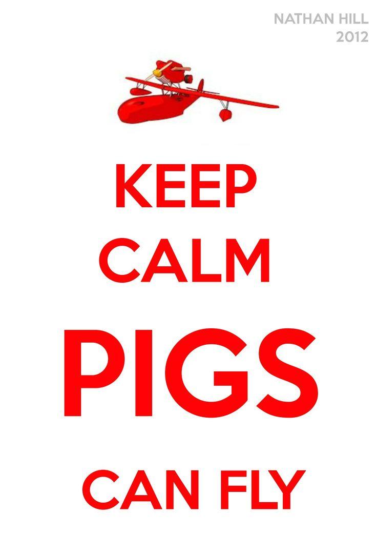 Porco Rosso Keep Calm