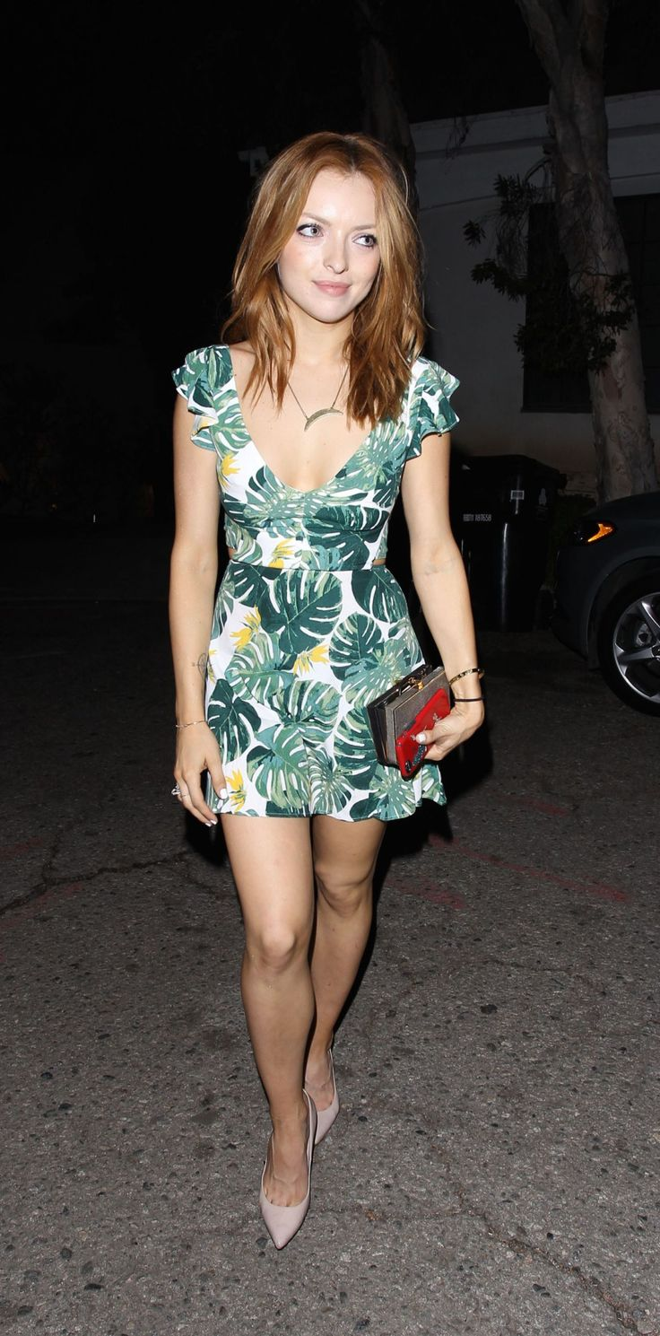 Francesca Eastwood ~ June 2015 ~ Night Out Style in Beverly Hills
