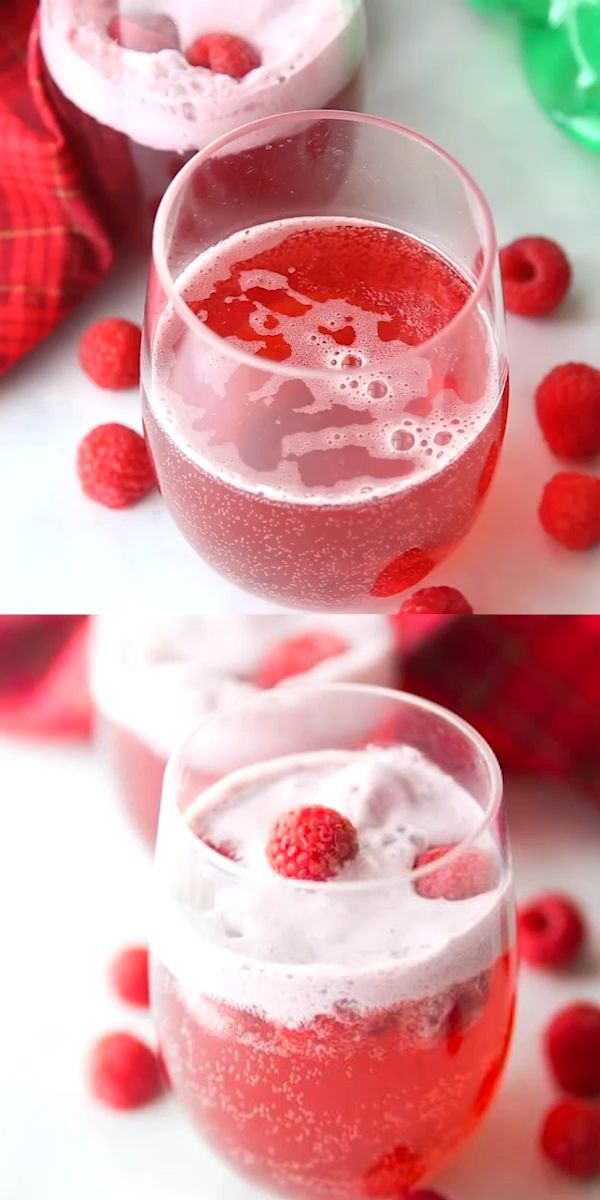 Christmas Ad Non Alcoholic 2020 Cran Raspberry Punch Recipe in 2020 | Christmas party drinks