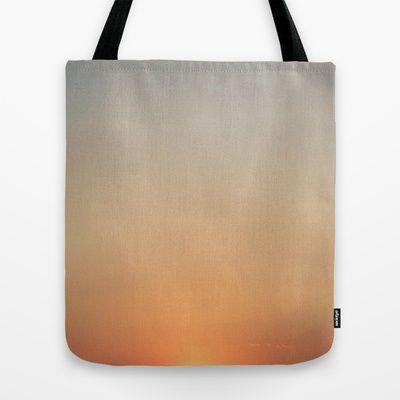 Sunset Tote Bag by alkinoos