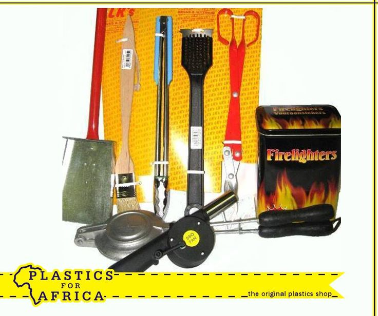 Planning on having a #braai this weekend? Visit your nearest #PlasticsForAfrica branch for all your braai essentials.
