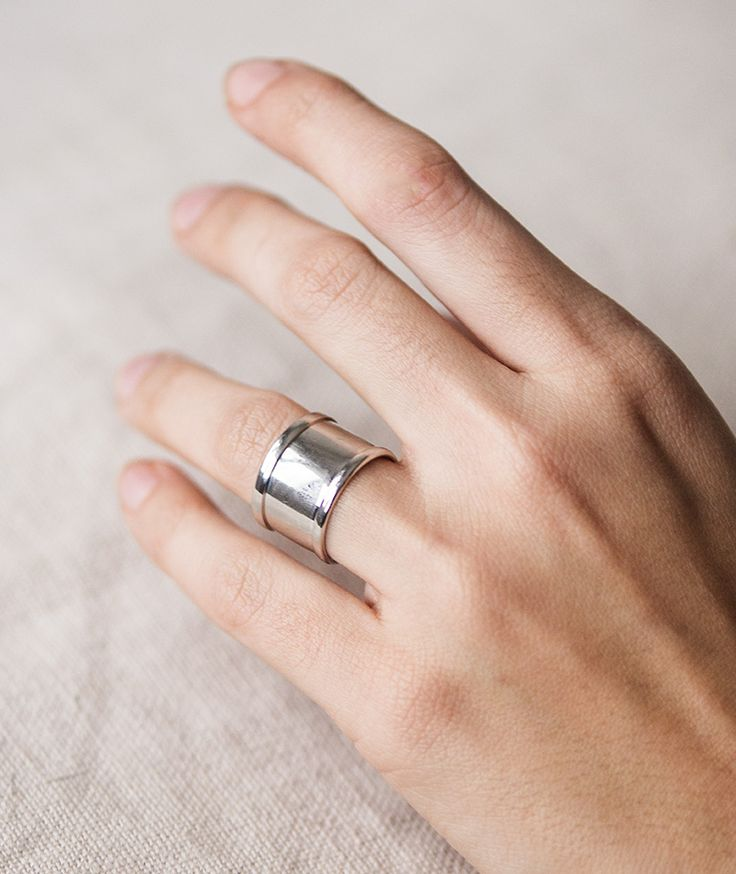 Grand Canyon Silver Ring by myfashionfruit.com