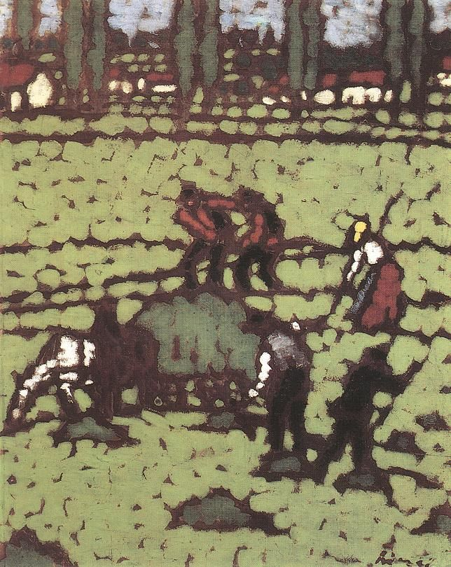 Work in the Fields (József Rippl-Rónai - 1910)
