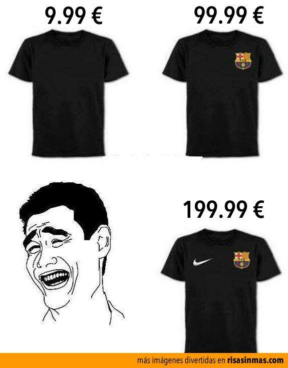 Camisetas y marcas. Y lo absurdo del ser humano.