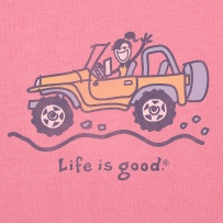 Face the bumps with a smile. #Lifeisgood #ThinkSpring