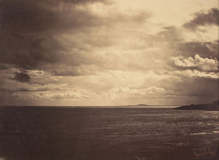 Gustave Le Gray (French - Cloudy Sky - Mediterranean Sea (Ciel Charge - Mer Mediterranee)) - Google Art Project - Gustave Le Gray - Wikipedia