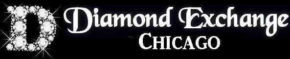 This is the logo for Diamond Exchange Chicago, a wholesale diamonds and engagement rings dealer in Chicago, IL.  To find out more about our services and products then visit http://diamondexchangechicago.com