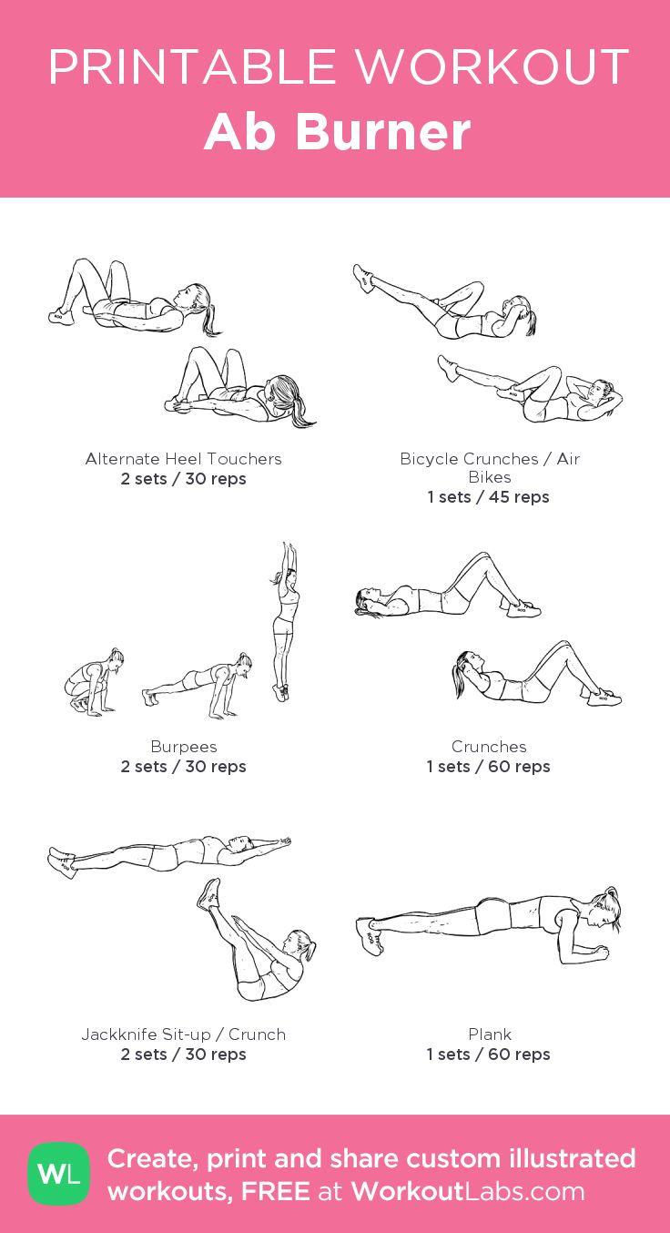 Revered image in printable work out routines