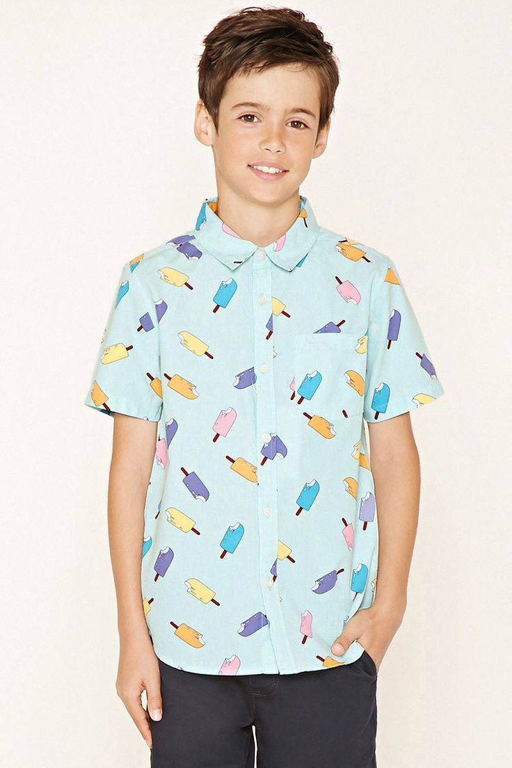I know funky but thought it was so 50's or maybe 80's? I don't even know if they have size Boys Ice Cream Shirt (Kids)