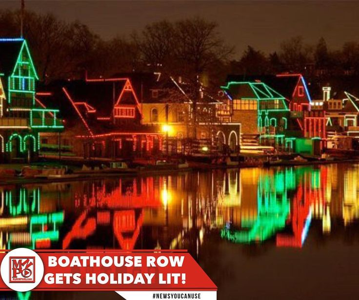 #phillynews: Boathouse Row is lit! The City of Philadelphia recently announced plans to celebrate for Christmas Hanukkah and Kwanzaa through public recognition and celebrations on one of the Citys iconic landmarks. In the spirit of inclusiveness and to highlight the diversity of the city the lights will celebrate Hanukkah Christmas and Kwanzaa this year. -Dec. 12th  to Dec.19th will be white and blue in honor of the Hanukkah holiday. -Dec. 20th to Dec. 25th the lights will be red green…