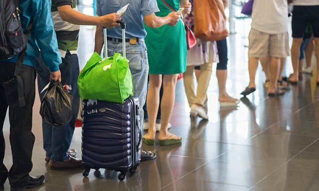 British tourists face two-hour delays at Majorca airport