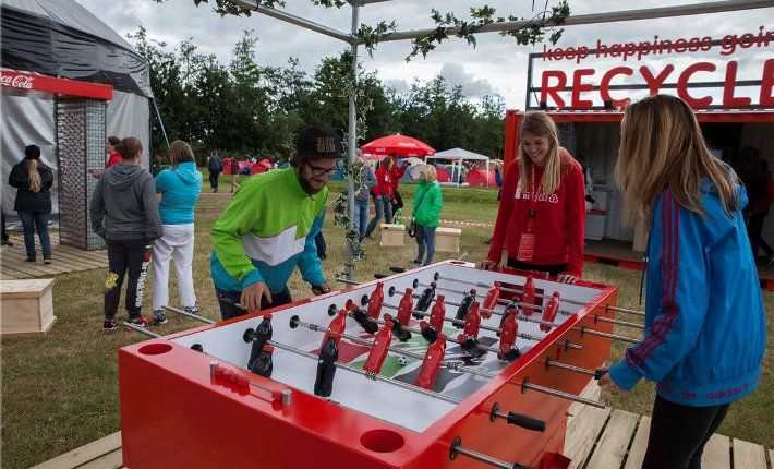 ID&T and Coca-Cola collaborate for recycling at festivals. https://www.horecatrends.com/en/idt-and-coca-cola-collaborate-for-recycling-at-festivals/